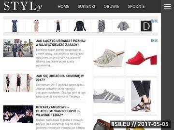 Zrzut strony Sukienki, porady oraz kreacje