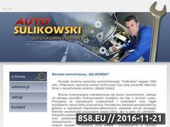 Miniaturka domeny www.sulikowskiwarsztat.pl