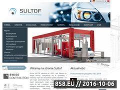 Miniaturka domeny www.sultof.pl