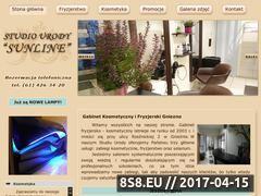 Miniaturka domeny www.sunline.gniezno.pl