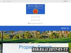 Thumbnail of Sun Quest Commercial Real Estate Listing Website