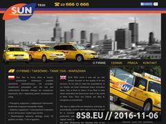 Miniaturka domeny www.suntaxi.pl