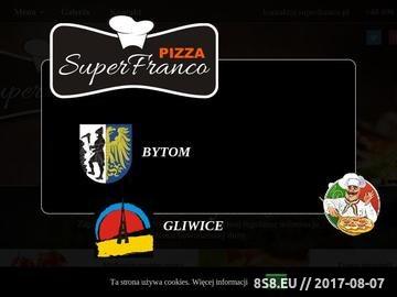 Zrzut strony Pizzeria w Bytomiu i Gliwicach
