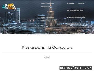 Zrzut strony APM Przeprowadzki