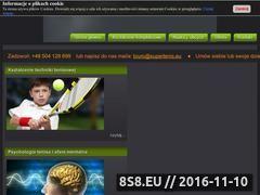 Miniaturka domeny supertenis.eu