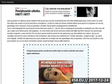 Zrzut strony Supervergroten.nl - zdrowie