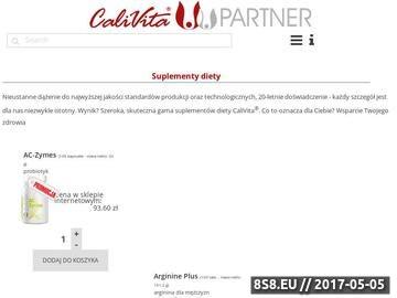 Zrzut strony Calivita