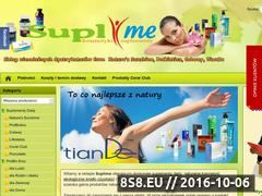 Miniaturka domeny suplime.pl