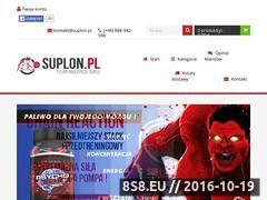 Miniaturka domeny suplon.pl