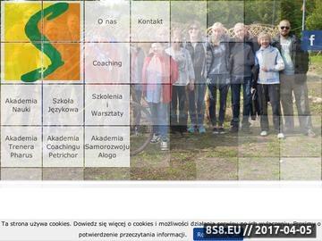Zrzut strony Szkolenia i język angielski w Lęborku