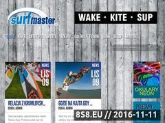 Miniaturka domeny surfmaster.pl