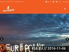 Miniaturka domeny www.surfpoint.pl