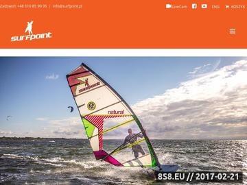 Zrzut strony Obozy Kite Surfpoint