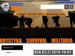 Miniaturka domeny www.survive-equip.pl
