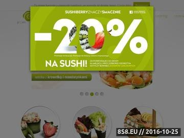 Zrzut strony Najlepsze sushi w Warszawie