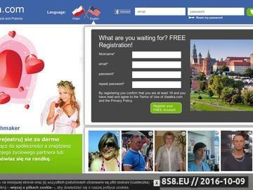 Zrzut strony Spotkania online dla Polonii z całego świata