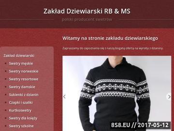 Zrzut strony Swetry męskie, damskie, dziecięce i dla mundurowych