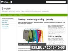 Miniaturka domeny swetry.webm.pl