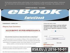 Miniaturka domeny swiatebook.blogspot.com