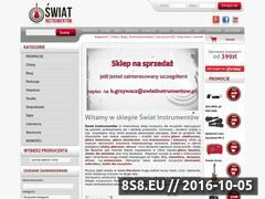 Miniaturka domeny swiatinstrumentow.pl