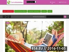 Miniaturka domeny www.swiatkwiatow.pl
