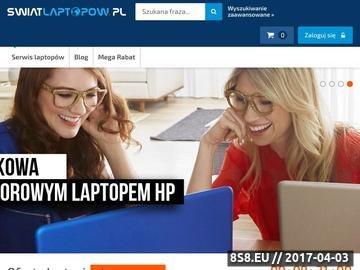 Zrzut strony HP pavilion