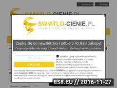 Miniaturka domeny www.swiatlo-cienie.pl
