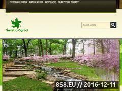Miniaturka domeny www.swiatlo-ogrod.pl