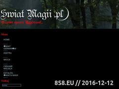 Miniaturka domeny www.swiatmagii.pl