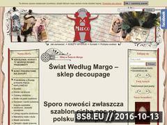 Miniaturka domeny www.swiatmargo.pl