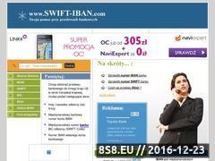 Miniaturka domeny www.swift-iban.com