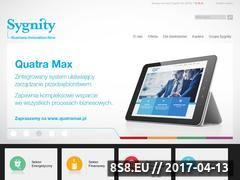 Miniaturka domeny www.sygnity.pl