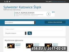 Miniaturka domeny www.sylwester.katowice.sk