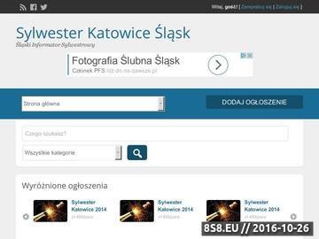 Zrzut strony Sylwester Śląsk - Bal Sylwestrowy