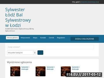 Zrzut strony Sylwester Łódź