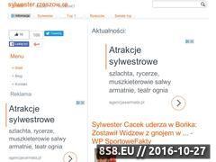 Miniaturka domeny www.sylwester.rzeszow.re