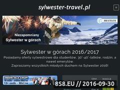 Miniaturka domeny www.sylwester.travel.pl
