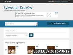 Miniaturka domeny www.sylwesterkrakow.com