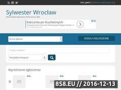 Miniaturka domeny www.sylwesterwroclaw.info