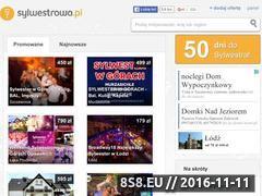 Miniaturka domeny www.sylwestrowy.pl