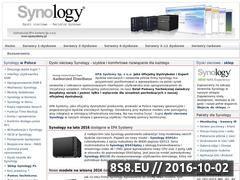 Miniaturka domeny www.synology.com.pl