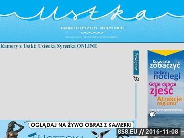 Zrzut strony Kamera z Ustki - Syrenka