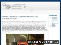 Miniaturka domeny www.system-erp.pl