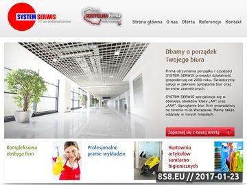 Zrzut strony Sprzątane biura Warszawa