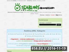 Miniaturka domeny szablony.blogowicz.info