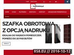Miniaturka domeny www.szafkinabuty.pl