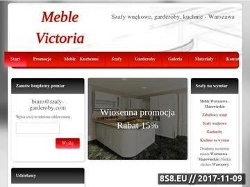 Zrzut strony Szafy wnękowe, garderoby - INDECO Warszawa