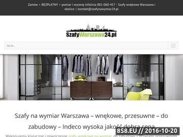 Zrzut strony Szafy na wymiar Warszawa