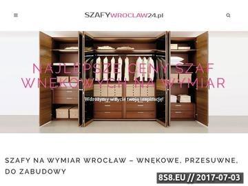 Zrzut strony Szafy na wymiar Wrocław