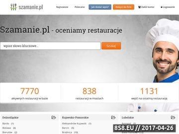Zrzut strony Oceniaj restauracje na Gastronauci